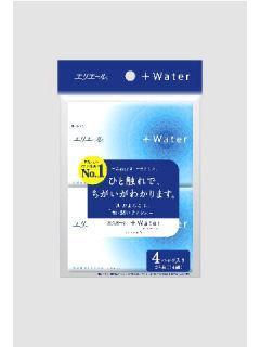 エリエール +Waterポケットティッシュ 14W×4P