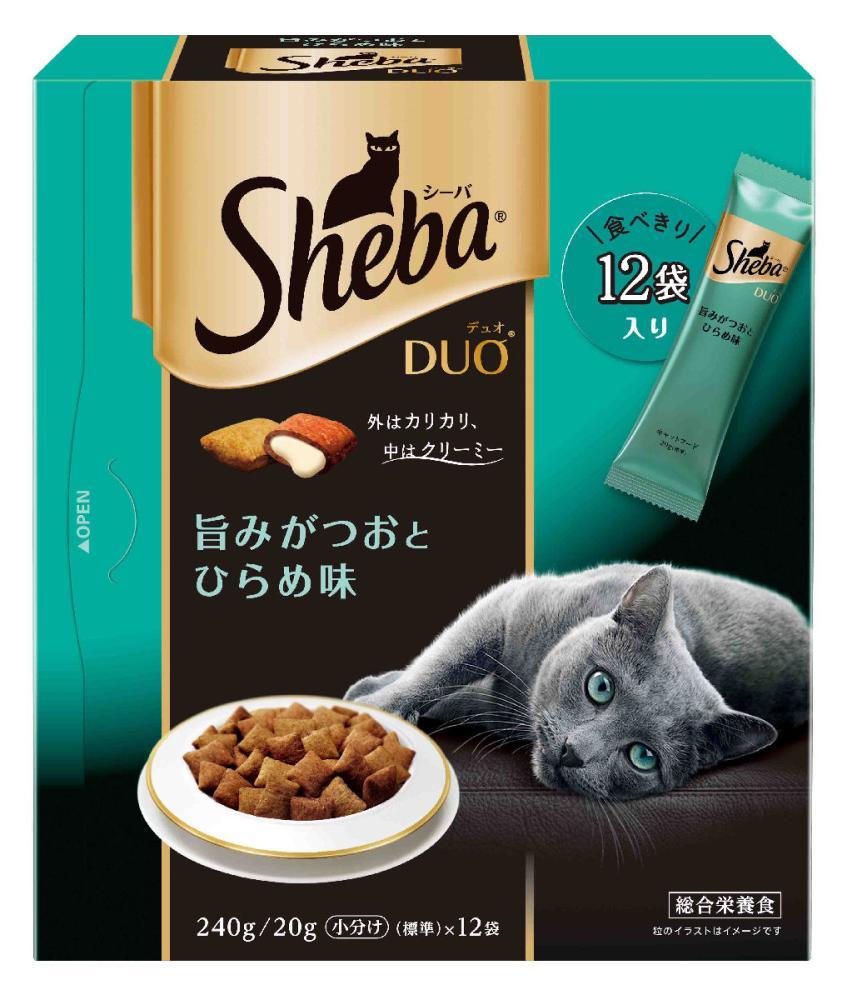 シーバDuo ひらめと旨みがつお味 240g (20g×12袋)