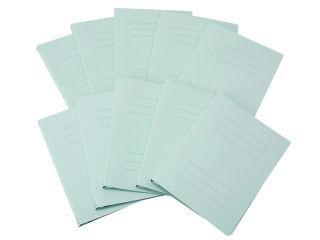 フラットファイル A4 縦型 ブルー 10冊セット
