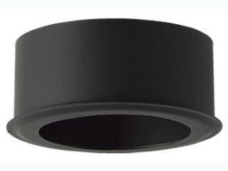 ホンマ 黒耐熱 二重 ステンレス エンドキャップ Φ120