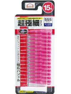 コメリセレクト 歯間ブラシ SSSサイズ 15本入