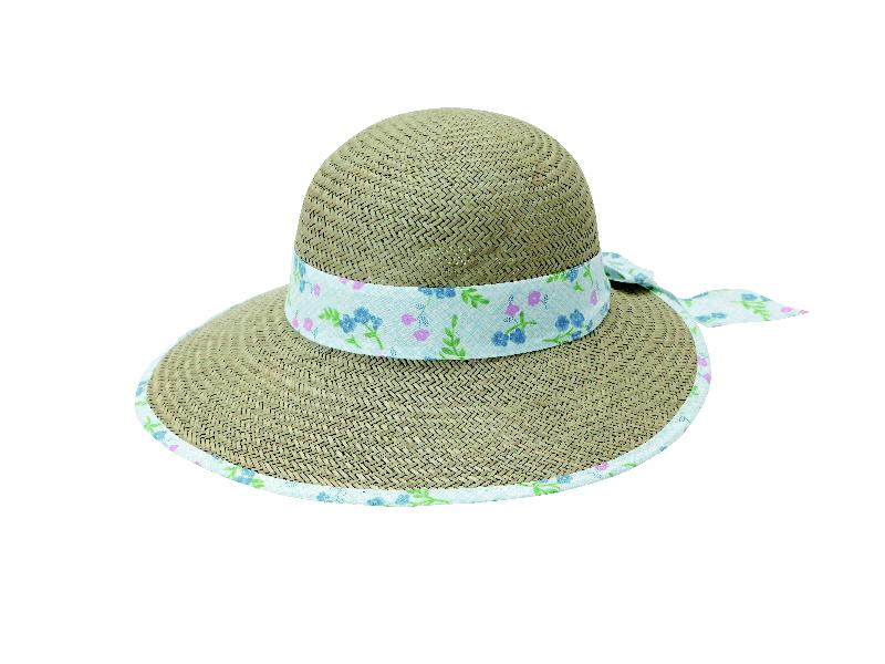 婦人い草帽子カレンCH-18