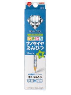 三菱 ナノダイヤ 鉛筆ダース 青 B