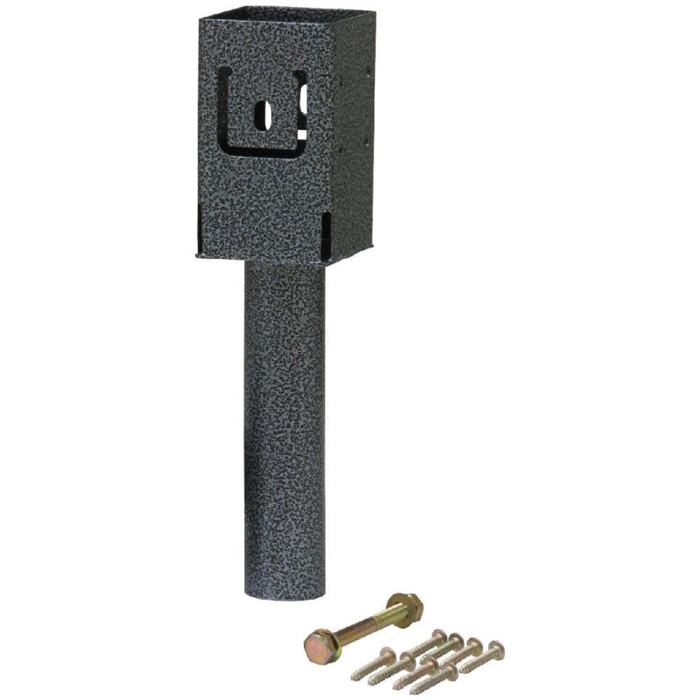 ラティス用柱固定金具 ブロック埋め込み用(1個) TKP-09