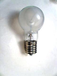 ミニクリプトン球 54W ホワイト 2個入 長寿命 口金E-17