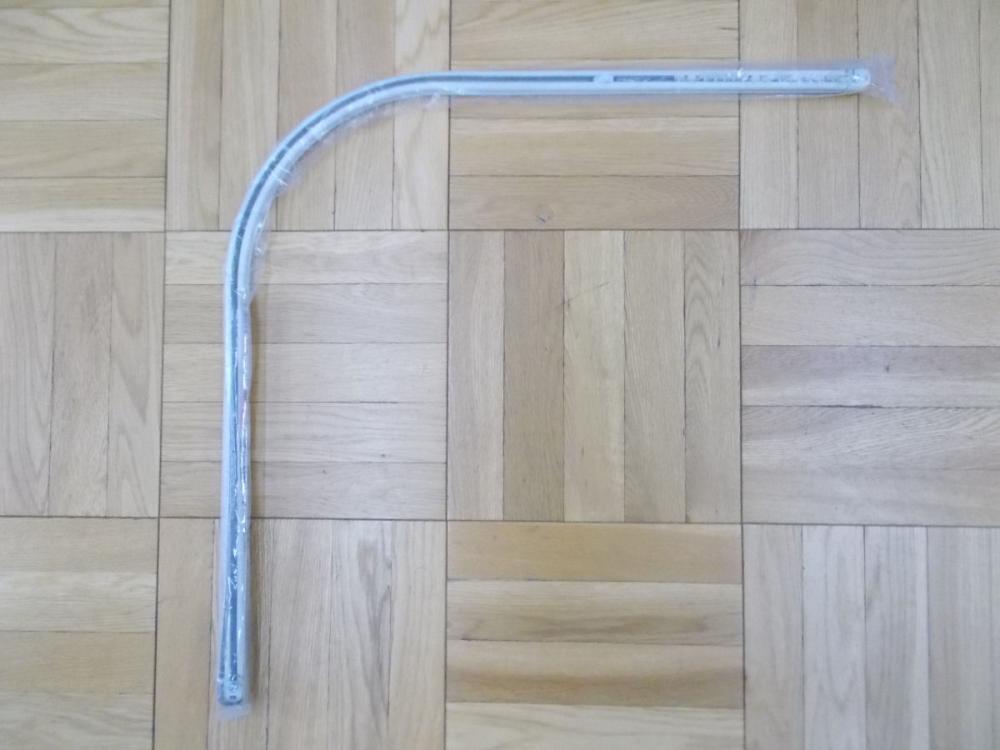 伸縮角型クロスライド カーブ 1m ホワイトウッド