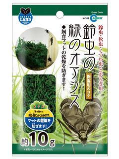 鈴虫の緑のオアシス
