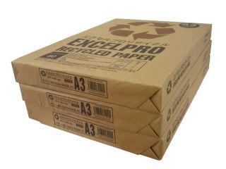 エクセルプロリサイクル A3 リサイクルコピー用紙 500枚
