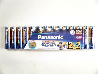 パナソニック 単3形エボルタ乾電池 12+2本 LR6EJSP/14S