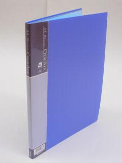 クリアブック 10枚 ブルー CBE1031B