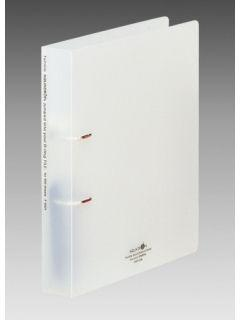 リヒト Dリングファイル A4 S型 ホワイト F5021-1