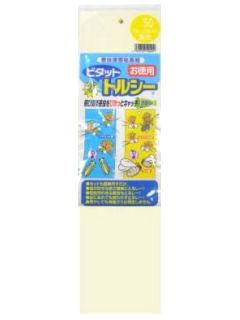 害虫捕獲粘着紙 ビタット トルシー L25枚 黄