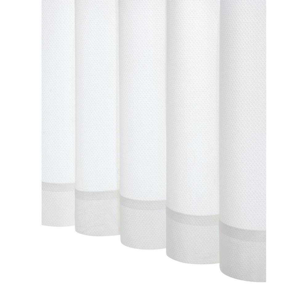 アテーナライフ 防炎レースカーテン プランタン ホワイト 幅100cm 2枚組 各サイズ