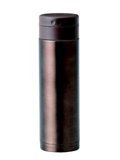 ステンレスマグボトル 400ml クリアブラウン