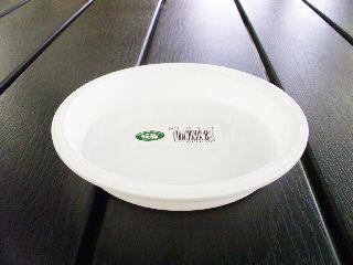 鉢皿 5号 ホワイト