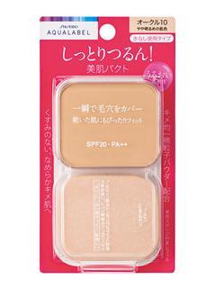 資生堂 アクアレーベル モイストパウダリー(レフィル) ピンクオークル10