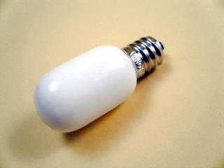 ナツメ球 5W ホワイト 長寿命 口金E-12 2個入
