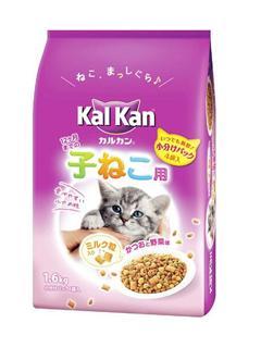 マースジャパン カルカンドライ 子ねこ かつお野菜ミルク 1.6kg
