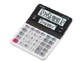 カシオ ミニジャスト型ツイン液晶電卓 MV-220W-N