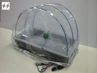 発芽育苗器 菜友器(さいゆうき) ドームセット サーモ付き PG-30GH