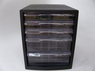 レターケース 5段 仕切板対応タイプ