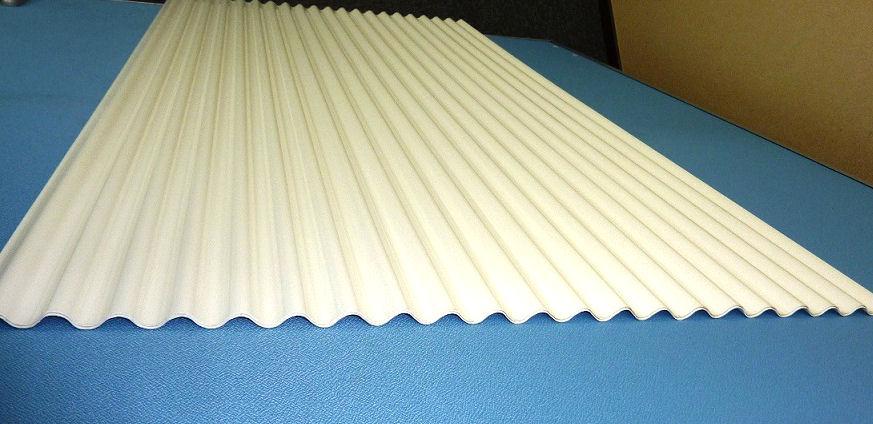 塩ビ畜産波板 0.8mm 骨白 各種