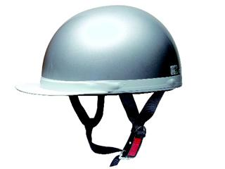 白ツバ半キャップ PS-HC001 SIL シルバー