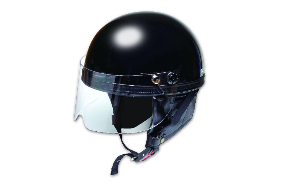 シールドヴィンテージヘルメット ブラック PS-VT002BK