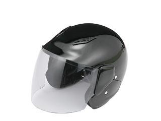 ファミリージェットヘルメット PS-FJ001 ブラック