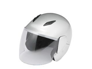 ファミリージェットヘルメット PS-FJ001 シルバー