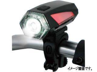 コメリセレクト LEDサイクルライト 0.5W ブラック