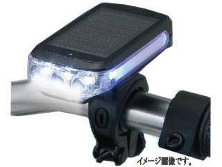 コメリセレクト ハイブリッド3LEDサイクルライト ブラック
