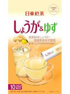 日東紅茶 しょうが&ゆず 10袋入