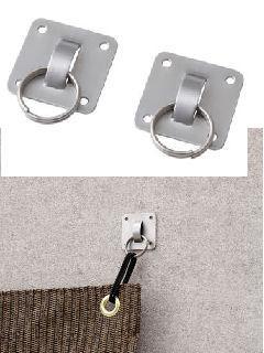 オーニング・たてす取付接着金具(2個組) NMT-F12