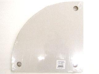 インテリアシェルフ棚板白 3穴 325×325mm