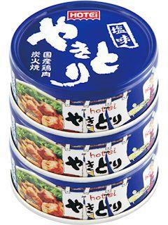 ホテイ やきとり 塩味 3缶シュリンク P4×3缶パック