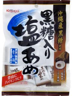 春日井 黒糖入り塩あめ 90g