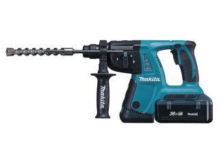 マキタ 36V充電式ハンマドリル 26mm HR262DWBX