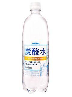 サンガリア 炭酸水 1L