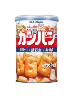 ブルボン 缶入りカンパン (キャップ付き) 100g