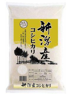 新潟県産コシヒカリ ふるさと便 精米 2kg
