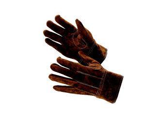 オイルブラウン牛床革背縫い L寸 445-L