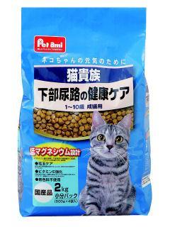 Petami 猫貴族 下部尿路の健康ケア 2kg