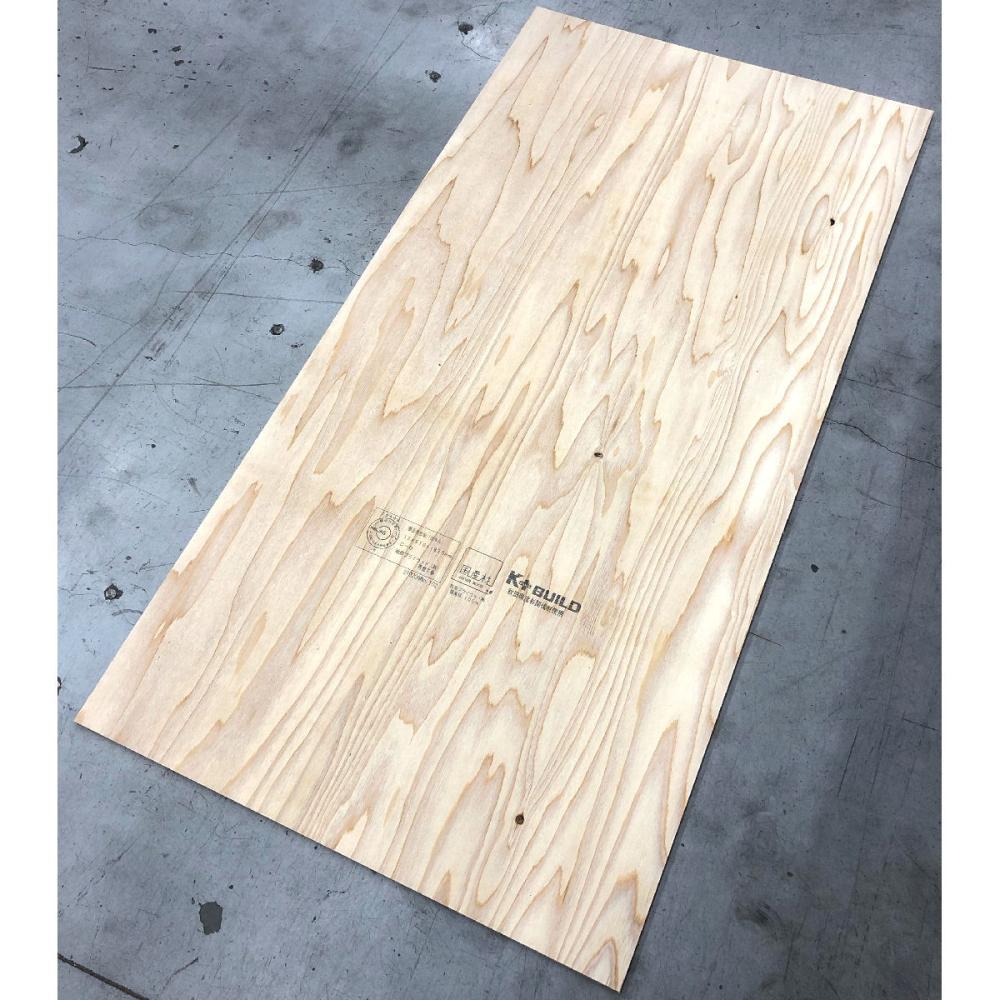 K+BUILD 秋田杉針葉樹構造用合板 3尺×6尺×12mm