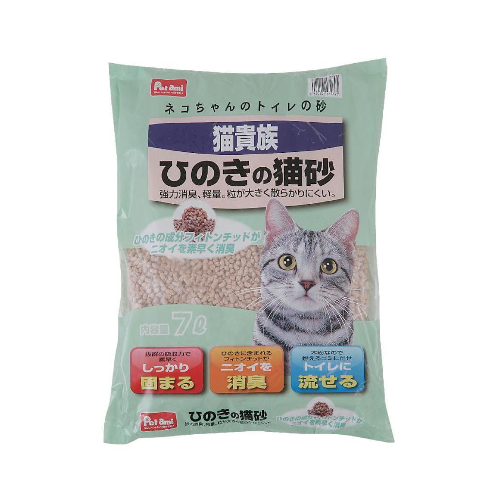 Petami 猫貴族 ひのきの猫砂 7L