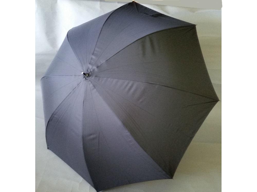 80cm BJ グラス傘 無地 黒