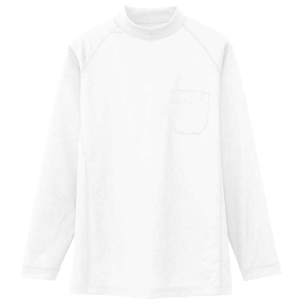 コーコス信岡 長袖ローネックシャツ 吸汗速乾 メンズ 各種