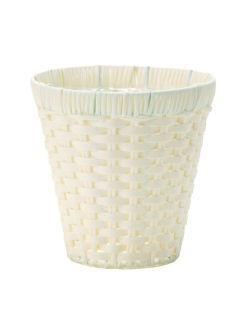 鉢カバー丸型ホワイト 6号