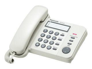 パナソニック 電話機 VE-F04-W