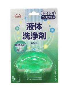 コメリセレクト トイレ用液体洗浄剤 ミント 付替え 70ml